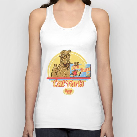Cat Tarts Unisex Tank Top