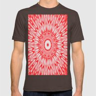 T-shirt featuring Red Burst by SimpleChic