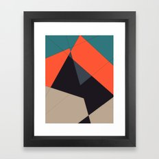 Over the Town Framed Art Print