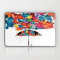 Rainbow Rainy Day Laptop & iPad Skin