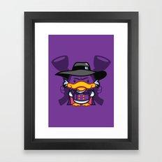 Hello Drakie Framed Art Print