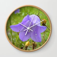Bellflower Wall Clock