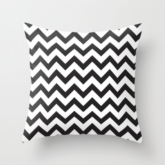 Classic Chevron Throw Pillow