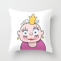 Little Princess 1 Throw Pillow