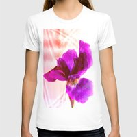 Iris Womens Fitted Tee White SMALL