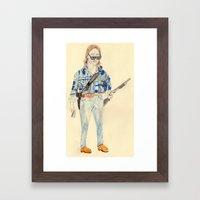 Nada | They Live   Framed Art Print