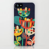 iPhone 5s & iPhone 5 Cases featuring Wild Flowers by Budi Kwan