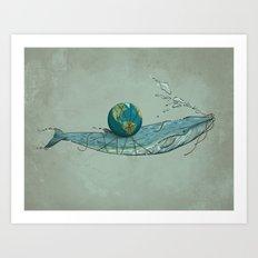 Save the Planet II Art Print