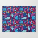 Mo' Monsters Mo' Problems Canvas Print