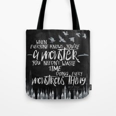 Six of Crows - Monster Tote Bag