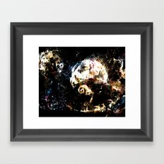 Nightmare Before Christm… Framed Art Print
