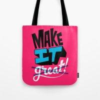 Make It Tote Bag