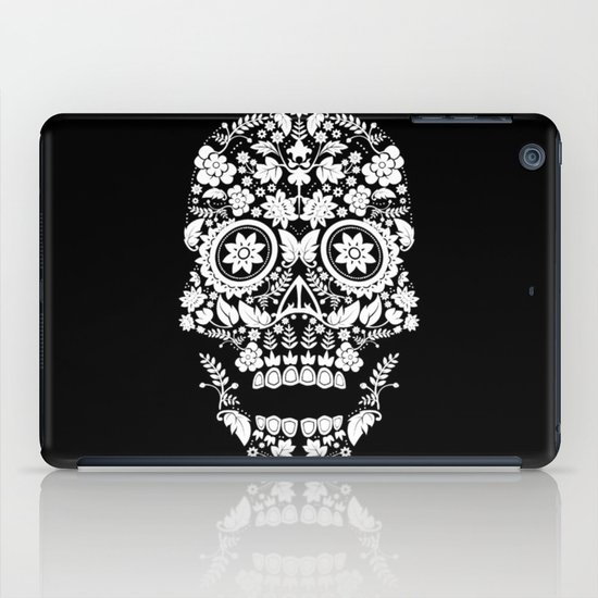 Day of the Dead Skull No.14 iPad Case