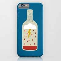 iPhone & iPod Case featuring wine bottle by Marco Recuero