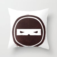 no smoking Throw Pillow