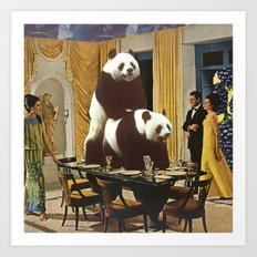 The Problem with Pandas Art Print