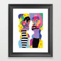 Weird & Weirder Framed Art Print