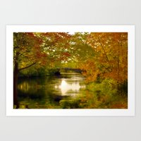 Fall Afternoon Art Print
