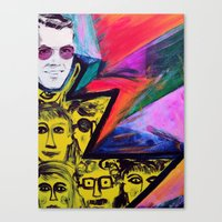 Ray of People Canvas Print