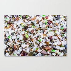 Sea Glass Treasures At Glass Beach Photograph by Priya Ghose Canvas Print