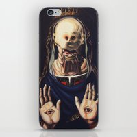 Pale Man With Crown iPhone & iPod Skin