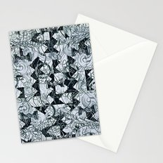 Black Burros Stationery Cards