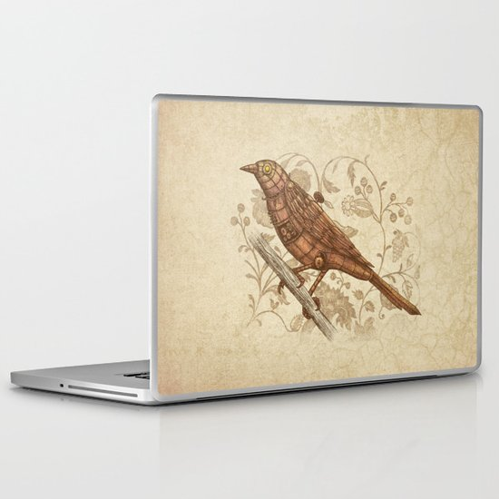 Steampunk Songbird  Laptop & iPad Skin