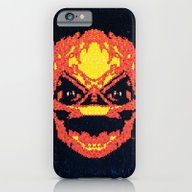 iPhone & iPod Case featuring Trick Or Treat Sam by Fimbis