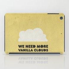 We need more vanilla clouds. iPad Case
