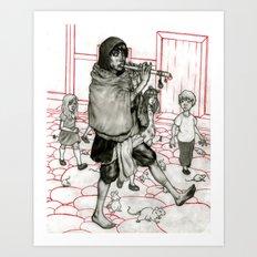 Piper Original Art Print