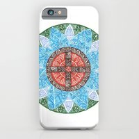 iPhone & iPod Case featuring stained flower by Rinneko