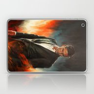 Laptop & iPad Skin featuring He Who Fights Monsters by Alice X. Zhang