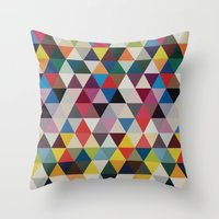 Wave of life Throw Pillow