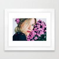 Mums Framed Art Print