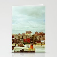 Harlem Skyline Stationery Cards