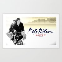 Kids Return Art Print