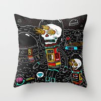 denrobot Throw Pillow