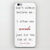 A fact iPhone & iPod Skin