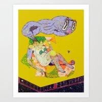 remedy hentai Art Print