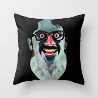Portrait of Alonso Quijada Throw Pillow