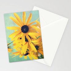 Sweet Yellow Flowers Stationery Cards