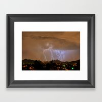 Reaching Common Ground Framed Art Print