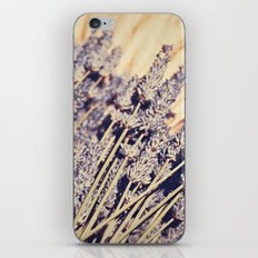 Lavender Flowers iPhone & iPod Skin