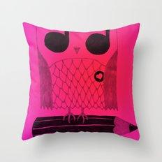 Owl Night Long Throw Pillow