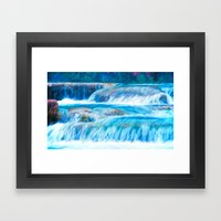 A Peaceful Gift Framed Art Print