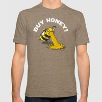 Buy Honey! Mens Fitted Tee Tri-Coffee SMALL