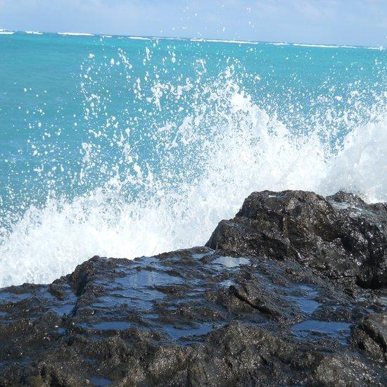 Oahu: Splash 2 Canvas Print