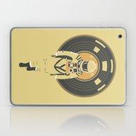 Laptop & iPad Skin featuring DJ HAL 9000 by Robert Farkas