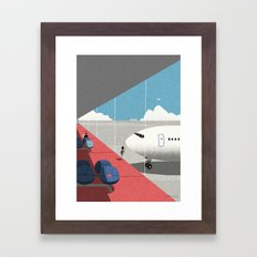 Departure Lounge Framed Art Print