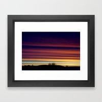 Looming, Weaving, Jupite… Framed Art Print